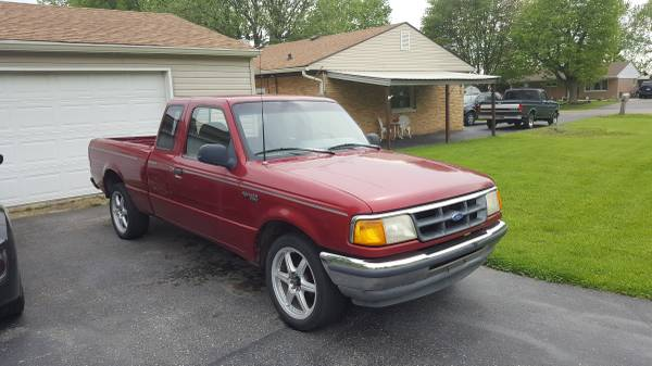 1993 ford ranger v4 auto for sale used by owner in indianapolis in. Black Bedroom Furniture Sets. Home Design Ideas