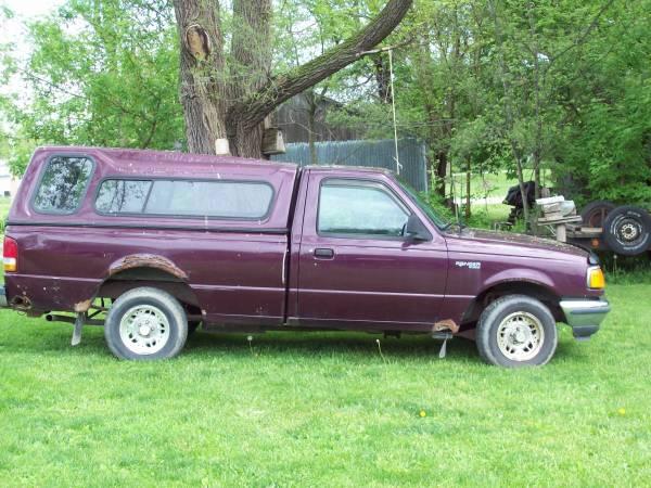 1994 ford ranger 3 0 v6 manual for sale used by owner in oskaloosa ia. Black Bedroom Furniture Sets. Home Design Ideas