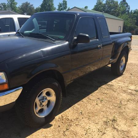 1999 ford ranger v6 auto 4x4 for sale used by owner in poplar bluff mo. Black Bedroom Furniture Sets. Home Design Ideas