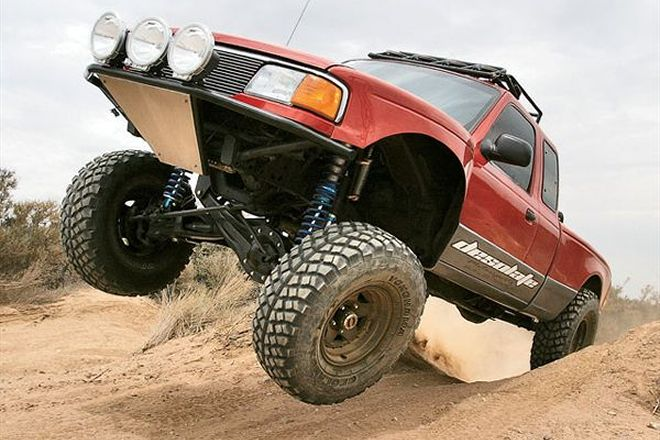 Ford Ranger 4x4 Photo Gallery Lifted 4wd Off Road Build Ideas