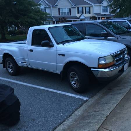 1999 ford ranger 4 0 v6 auto for sale used by owner in whitsett nc. Black Bedroom Furniture Sets. Home Design Ideas